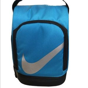 Nike Lunch Dome Box Bag Tote Insulated Zip Blue